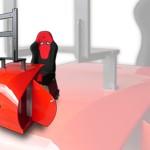 Simulador de carro Drive Seat 550 ST con programa de simulación Driver Test