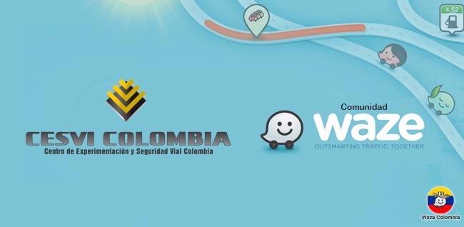 Cesvi Colombia y Waze