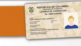 Renovar licencia de conducción Colombia